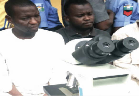 Man steals N1.7m hospital?s microscope, sells it for N5,000