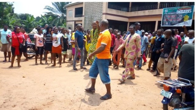 Man Kills Dad And Set His Corpse Ablaze In Anambra