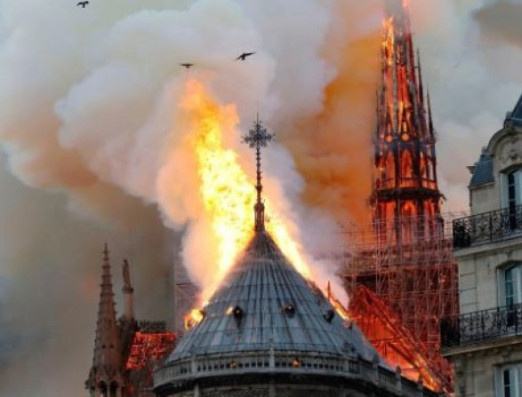 So far, ?$947 million has been donated to help rebuild Notre Dame Cathedral in Paris