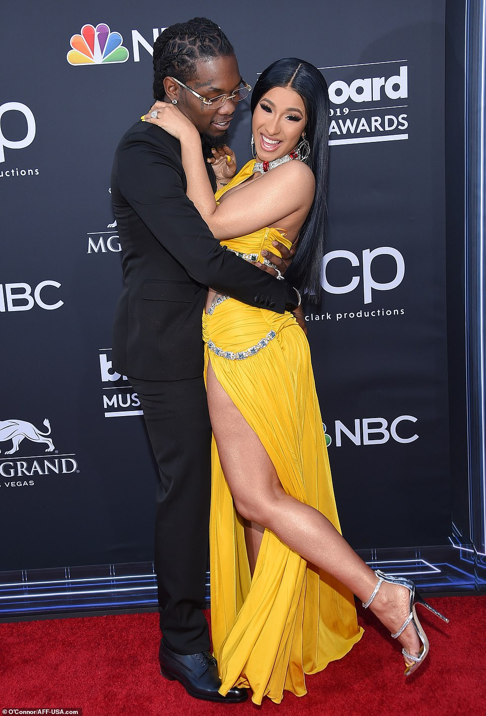 Cardi B Nearly Exposes Her Private Part As Lifts Her Leg