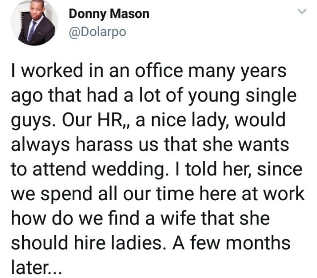 Man shares the interesting story of how he met his wife