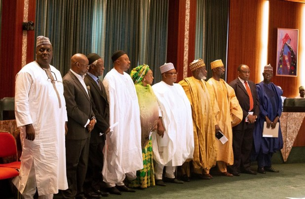 President Buhari inaugurates the North East Development Commission