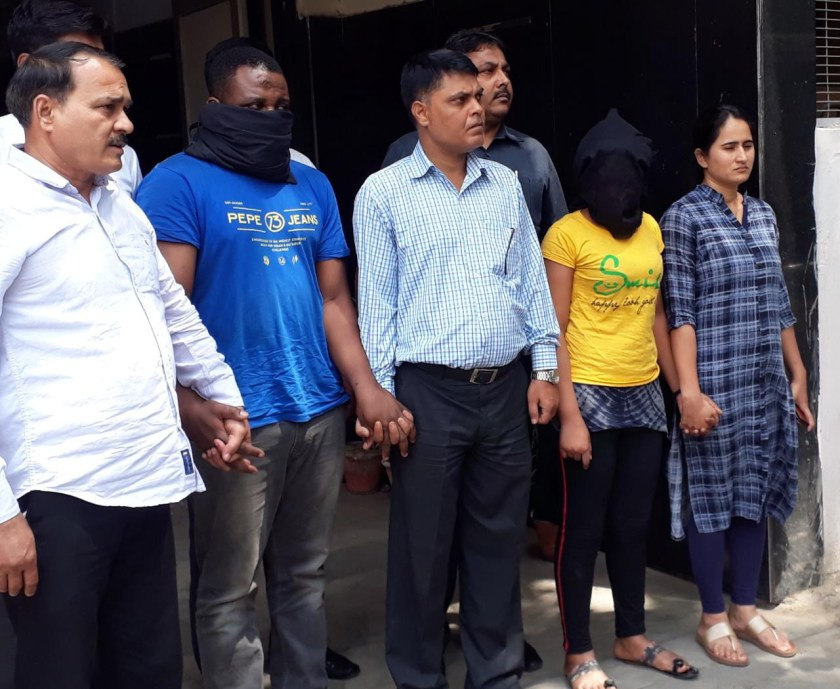 Photos: Two Nigerian nationals, one South African woman arrested in India?s biggest ever narcotics seizure