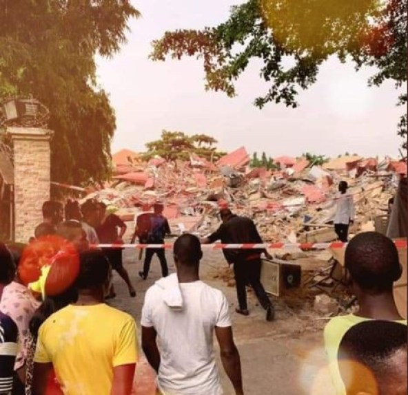 FG demolishes Abuja night club just weeks after arresting strippers there (Photos)