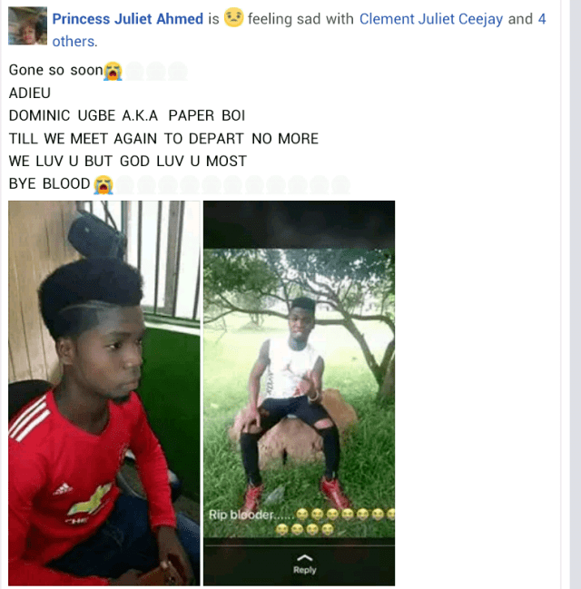 Photos: 200 Level CRUTECH student drowns during a pool party in Calabar