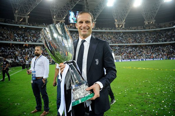 Juventus confirm Massimiliano Allegri will leave at end of the season after five years in charge of the club