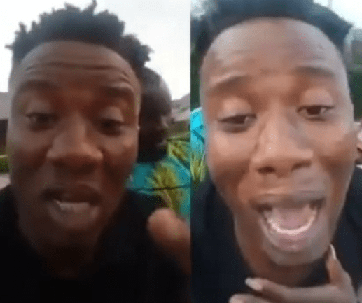 Heartbreaking video of a Nigerian dad weeping after losing two children within a space of two days in Edo
