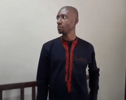 Video/photos: Nigerian man arrested at India airport as he was about to board a plane without valid passport
