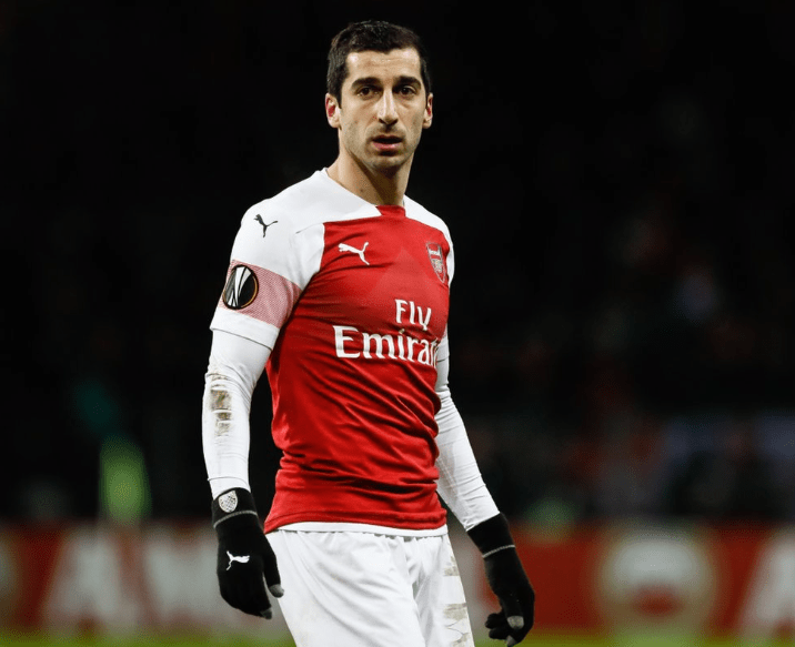 Arsenal announces midfielder Henrikh Mkhitaryan will miss Europa League final against Chelsea over safety fears