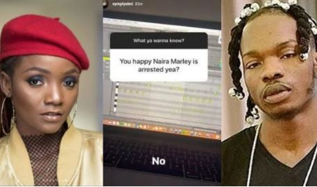 Finally, Simi breaks her silence on Naira Marley