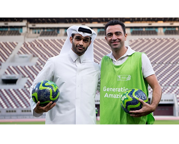Barcelona legend Xavi appointed manager of Qatar Stars League side Al Sadd after announcing his retirement