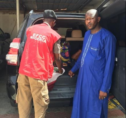 Photos:?4 Ghana Must Go bags containing Sixty Million Naira recovered from Zamfara State