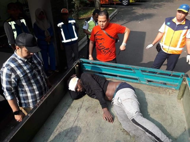 Nigerian man dies after he was hit by a car while trying to run from Immigration in Indonesia