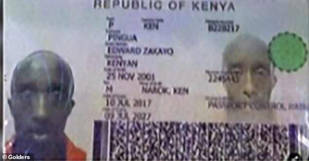 17-year-old Kenyan athletics champion is forced to release his passport and birth certificate following doubts over his age (Photos)