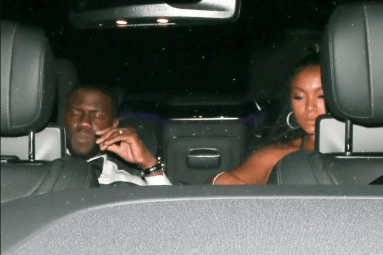 Drunk Kevin Hart carried out of his party on his wife