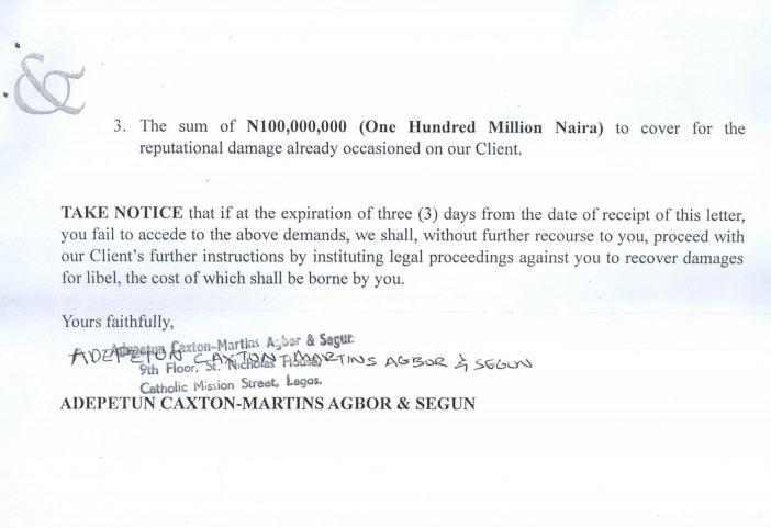 Breaking: Kizz Daniel slams N100million lawsuit on Vanguard for