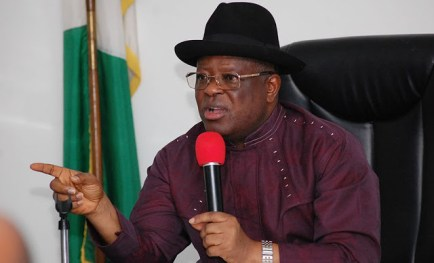 My government is not ?come and chop? - Governor Umahi