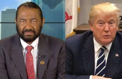 Again, US lawmaker Al-Green files impeachment notice against President Trump