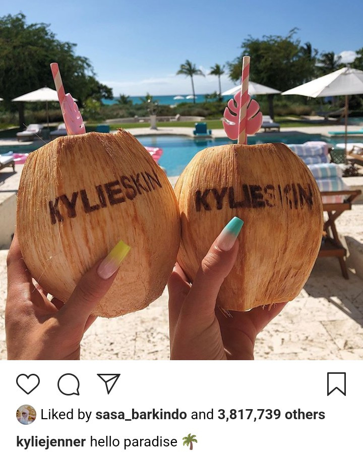 Kylie Jenner and her girls rock matching swimsuits while on their Summer Trip (photos)