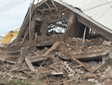 60 escape death as hotel collapses in Ebonyi