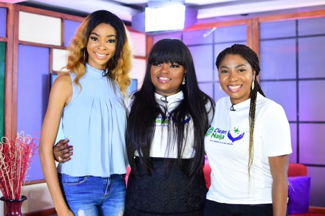 Funke Akindele Announces Dettol Clean Naija?s National Handwash Challenge On Silverbird TV