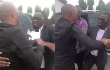 APC Chairman  Hon. Jotham Amos and Hon. Wilson Dauyegha in physical fight over primaries (video)