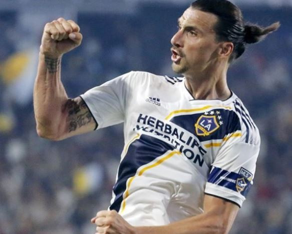 Days after declaring himself the best player in MLS, Zlatan Ibrahimovic scores a hat trick against Carlos Vela?s team