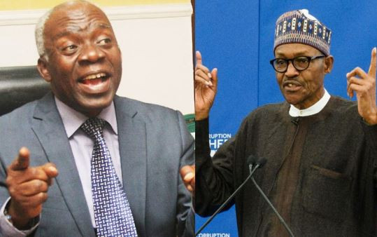 Nigeria is heading towards anarchy if insecurity is not fixed - Femi?Falana warns President Buhari