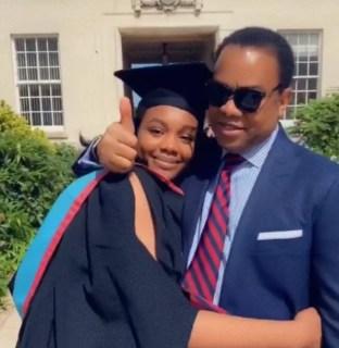 Donald Duke's Daughter Graduates From UK University [photos]