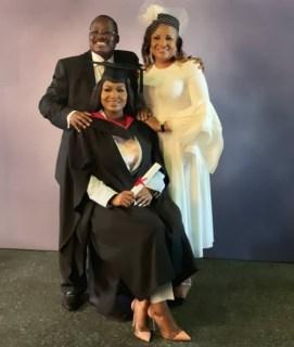 Abiola Ajimobi's Daughter Graduates From UK University [photos]