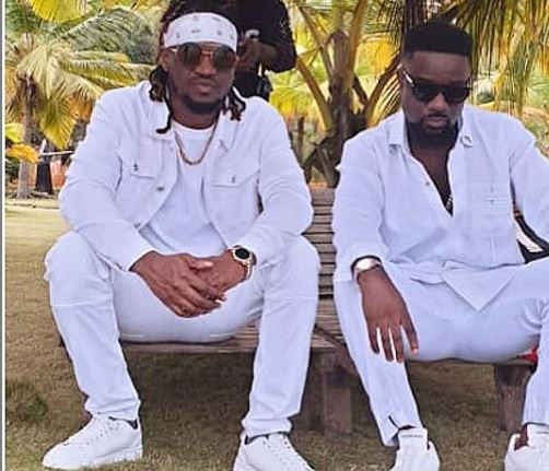 Ghanaian rapper, Sarkodie and Paul Okoye come under fire for the controversial artwork of their new song