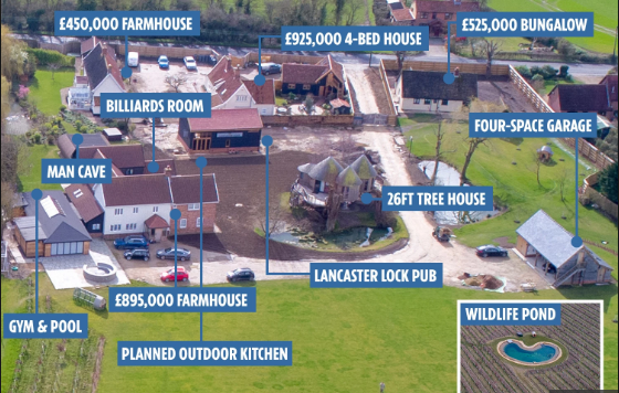 Ed Sheeran spends £4million buying up his neighbours' houses to stop complaints about noise