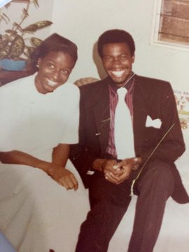 African Development Bank president, Akinwunmi Adesina, professes love to his wife as they celebrate 35th wedding anniversary