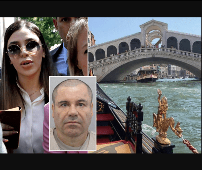 Inside Life! El Chapo's Wife Goes On Vacation 2Weeks After He Was Jailed