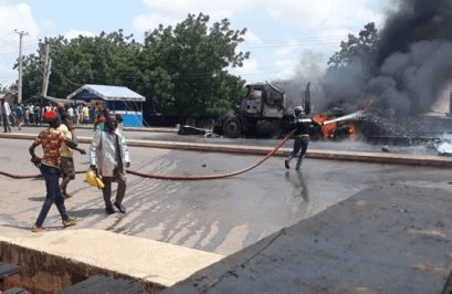 Fuel tanker explodes in Gombe