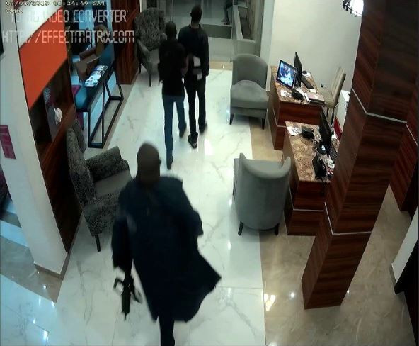 CCTV photos from Omoyele Sowore's arrest by armed DSS operatives 1