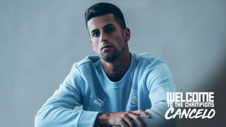 Manchester City sign Joao Cancelo in deal worth ?60m with Danilo heading to Juventus (Photos)