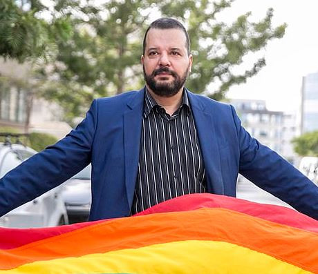 Openly gay lawyer runs to be President of Tunisia;?becoming first homosexual to run for office in the Middle East