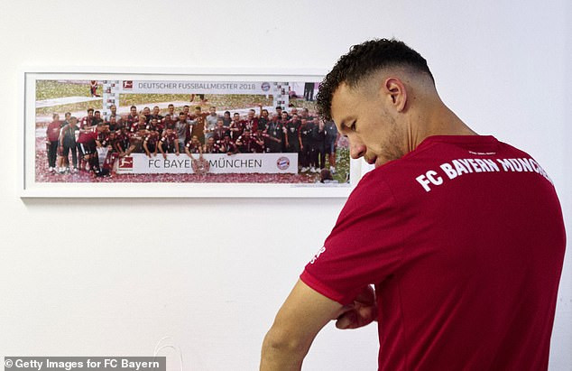 Bayern Munich complete signing of Ivan Perisic from Inter Milan on ?4.6m loan (Photos)