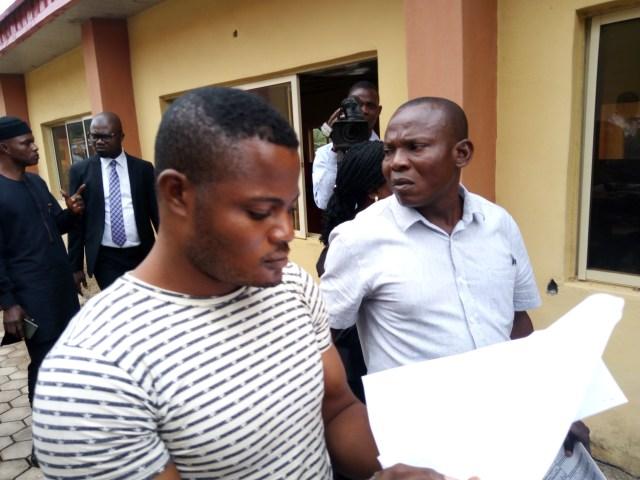 Soldier who raped Adekunle Ajasin University student arraigned, see his photos