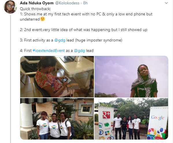 Nigerian lady, Ada shares her inspiring story as she becomes Google Devrel Manager for Subsaharan Africa