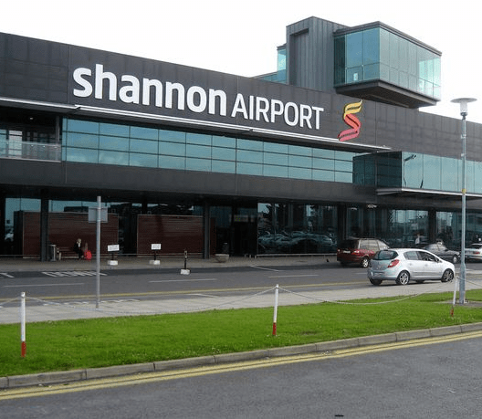 Flights suspended at Shannon airport after plane carrying US troops