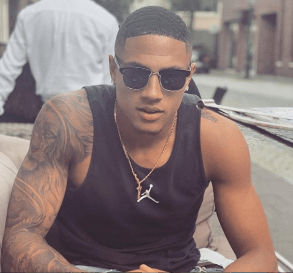 19-year-old Super Eagles new goalkeeper, Okoye Maduka leaves ladies drooling for more