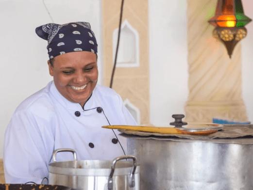 Kenyan chef  Maliha Mohammed breaks Guinness World Record for cooking for longest hours