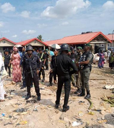 Hausa and Yoruba community in Oke Odo market, Lagos State
