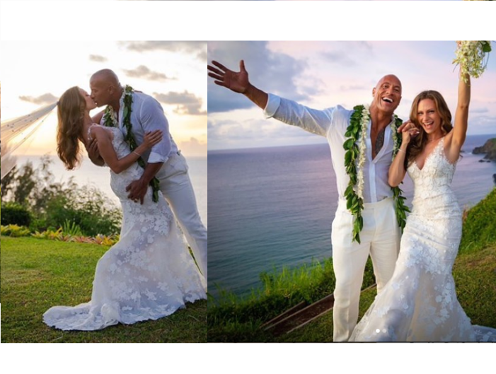 Former Wrestler Dwayne 'The Rock' Johnson Gets Married to Longtime Girlfriend