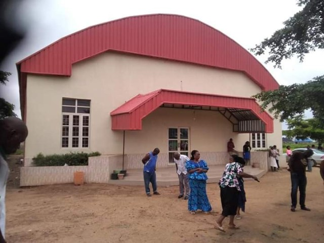 Unidentified young woman raped to death in front of a church in Benue (graphic photos)