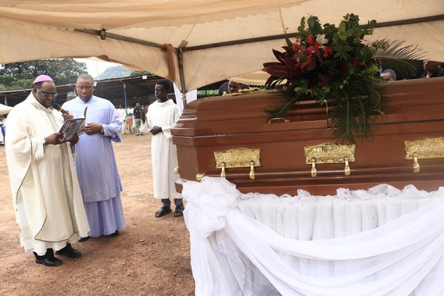 Photos from the funeral of Rev Fr Offu killed by suspected herdsmen