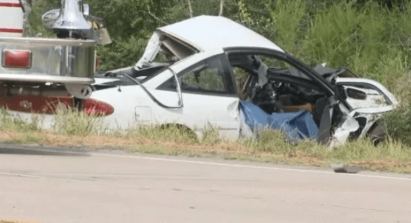 Childhood sweethearts killed in accident only minutes after getting married