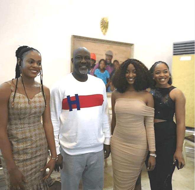 Sen. Dino Melaye hosts evicted Big Brother Naija housemates at his Abuja residence?(Photos)